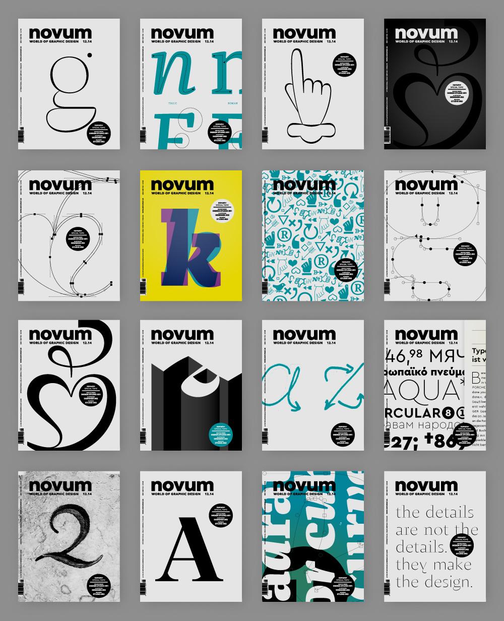 Novum Magazin Dezember 2014, jakob runge, Cover, Titelblat, design, Zitat, Gestaltung, Prägung, Typografie, Varianten, Entwürfe