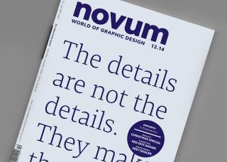 novum magazin dezember ausgabe cover design jakob runge